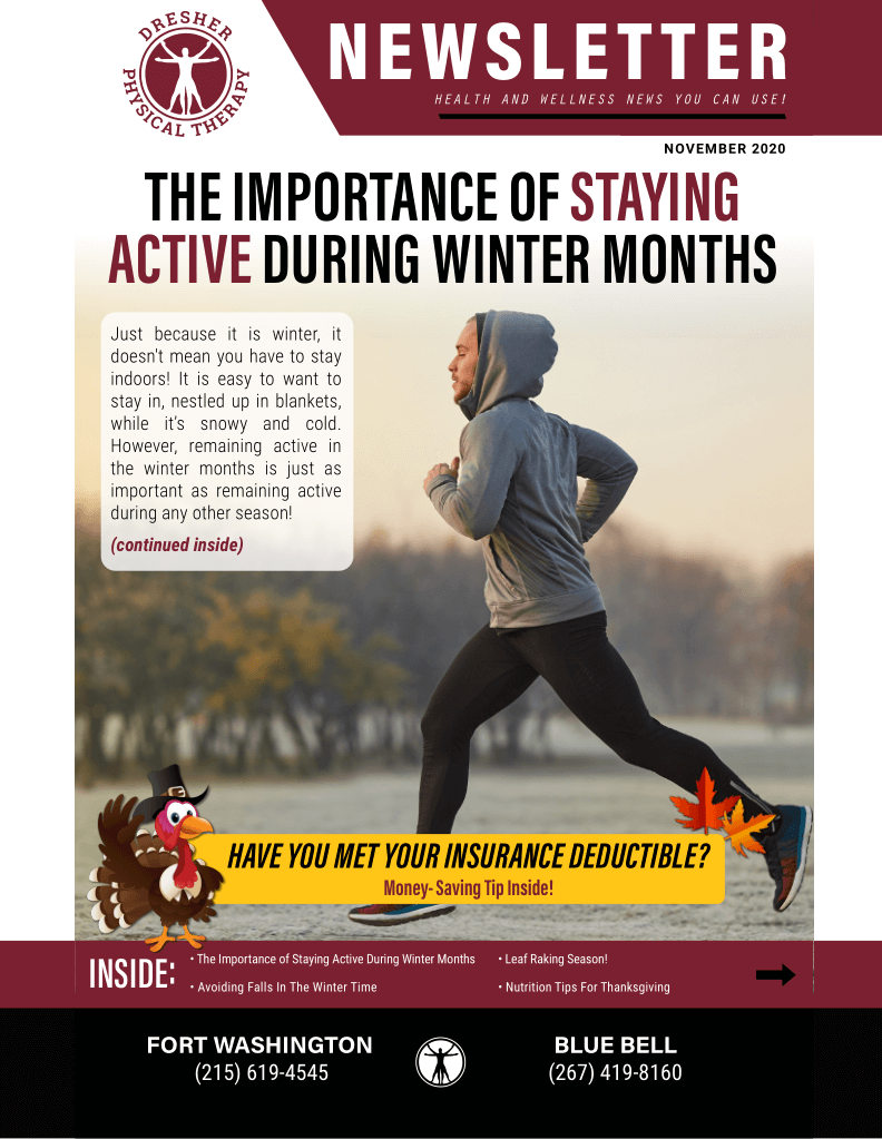 The Importance Of Staying Active During The Winter Months
